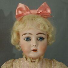 VERY RARE ANTIQUE GERMAN BISQUE Bébé BY MAX HANDWERCK ON ORIGINAL STAMED BODY