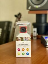 NEW Polaroid Cube+ Plus 1440p Mini Lifestyle Action Camera with Wi-Fi Red