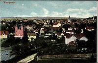 Wernigerode Sachsen-Anhalt Harz AK ~1910 Rundblick Stadt Häuser Panorama Kirche