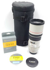 PRE-OWNED Canon EF 300mm f/4 L IS USM Lens w/ Filter and case PRE-OWNED