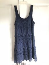 Staring at Stars Navy lace dress sized medium