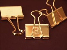 GoldClip 24kt Gold plated Money Clip - Comes in Silver Plate also