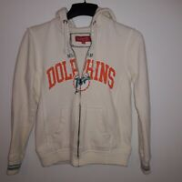 Miami Dolphins NFL Mitchell & Ness Full Zip Hoodie