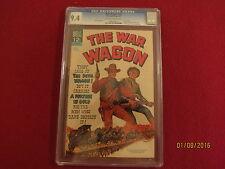 1967 THE WAR WAGON  JOHN WAYNE DELL COMIC BOOK CGC 9.4 N/MINT