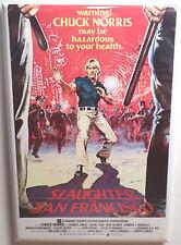 """Slaughter in San Francisco MAGNET 2"""" x 3"""" Refrigerator Locker Movie Poster"""