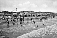 Cartolina - Postcard - Forte dei Marmi - Spiaggia - animata - anni '50 - NVG