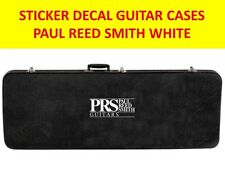 P R S WHITE PAUL RED SMITH GUITAR CASES STICKER VISIT OUR STORE WITH MANY MODEL