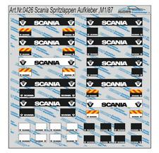 HO/1:87 0426 Scania Spritzlappen als Aufkleber