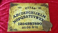 Ouija Board Seance Twin Globes laminated sheet + Dark Planchette Fortune telling