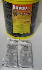 Havoc Rat & Mouse Poison Pellet Packs 4 Packs FREE SHIP 1.76 oz packs FREE SHIP!
