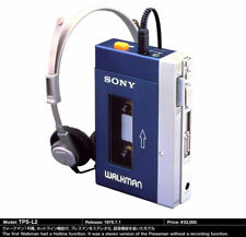 Cassette Walkman PC fix REPAIR SERVICE Sony TPS-L2 WM-3 WM-1 replace belt clean