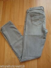 Women Abercrombie and Fitch gray skinny jeans size 25/size 0