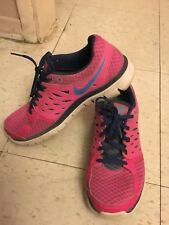 NIKE Flex 2013 RUN,Women's HOT PINK Athletic Shoes,size 8.5.