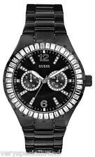 Guess Glitz Black Stainless Steel Watch 16017L2