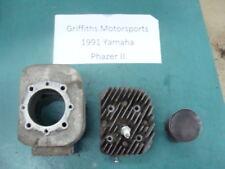 91 92 90 YAMAHA PHAZER 2 II pz485 right cylinder piston head 8V001 89 88 87