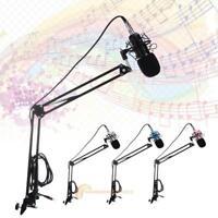 BM-700 Studio Broadcasting Recording Condenser Microphone Mic + Shock Mount Set