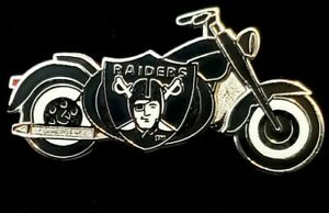 Las Vegas Oakland Raiders Motorcycle Pin