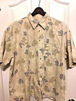 Half Moon Bay  Men's Aloha Shirt   2X   Hawaiian Shirt