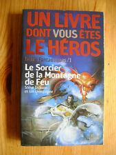 LDVELH - Le sorcier de la montagne de feu -  Livre dont vous êtes le héros