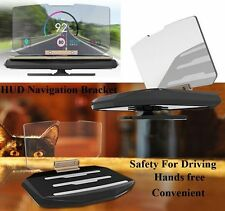 Universal Car GPS HUD Head Up Display holder Navigation Mount Image Reflector