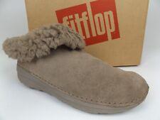 FitFlop Women's Loaff Snug Suede Desert Stone Comfort Slipper SZ 7.0 M,   17794