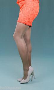 Peavey Suntan Opaque MATTE Microfiber Tights 40DN Pantyhose Nylons Stockings
