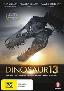 DINOSAUR 13  - BRAND NEW SEALED DVD - BONUS FEATURES!