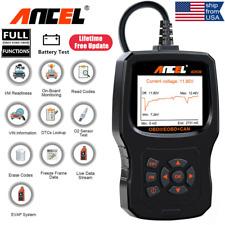 Check Engine Battery Tester Auto OBD2 Scanner Code Reader Car Diagnostic Tool US