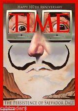 Time Magazine Salvador Dali  Refrigerator  / Tool Box Magnet