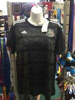 Adidas Mexico Home Black White Jersey Gold Cup 2019 Size L Women's Only