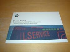 BMW SERVICE BOOK 3 SERIES E36 Z3 COUPE ROADSTER M3 Not Owners Handbook Manual