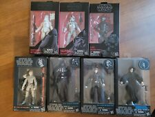 Star Wars Black Series 6 inch Lot Used. Free Shipping. Some accessories missing