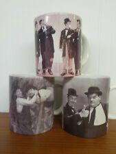 (3) Laurel & Hardy Classico Mugs Movie Scenes Scarce 1999