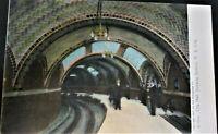 New York, NY~City Hall Subway Station~Copyright 1905~Rotograph Co. Pub.~Mint