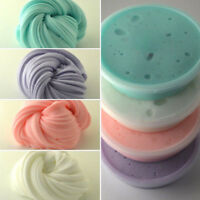 Kids Fluffy Floam Slime Scented Stress Relief No Borax Toys Sludge Colorful Gift
