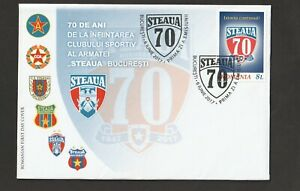 2017  ROMANIA    - STEAU BUCHAREST 70th ANNIVERSARY SET ON FIRST DAY COVER