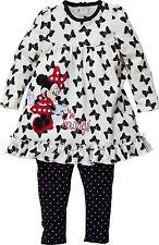 Disney Minnie Mouse Baby Tunic & Leggings Set 9-12 Months Free UK P&P