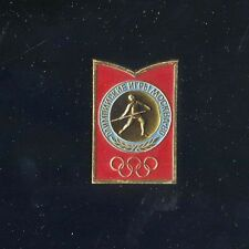 spilla pin MOCKBA 1980 Moscow Olimpic Games giavellotto Javelin Метание копья