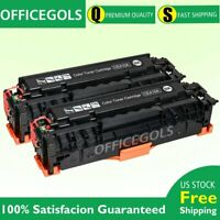 2PK CE410A Black Toner For HP 305A LaserJet Pro 400 M475dn M475 M451nw Printer
