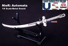 1/6 Scale Metal Sword Weapon For Nier Automata YoRHa No.2 Type B 2A Hot Toys USA