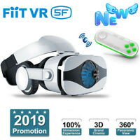 Virtual Reality Headset VR 3D Glasses with Remote Control for Android IOS iPhone