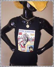 70's Ideal Stunt Cycle Vtg NOS Evel Knievel Harley Davidson 90s Tank Top T-shirt