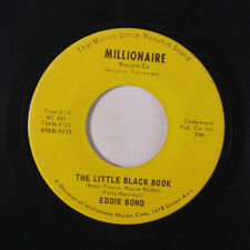 EDDIE BOND: The Little Black Book / Is My Ring On Your Finger 45 Country