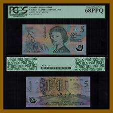 Australia 5 Dollars, 1992 P-50a QE II PCGS 68 PPQ