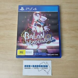 Balan Wonderworld - NEW - PS4 PlayStation 4 AUS PAL square enix
