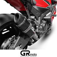 Scarico Per Suzuki Gsx-R Gsxr 1000 K5 K6 2005 - 2006 GRmoto Marmitta Carbonio