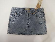 Tyte Womens Juniors 100% Cotton Denim Distressed Mini Skirt  Size 11