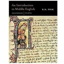 An Introduction to Middle English: Grammar and Texts, Fulk, R.D., Acceptable Boo