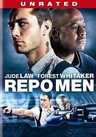 Repo Men (DVD, 2010, Unrated/Rated Versions) SEALED  FREE S/H Jude Law