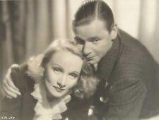 "MARLENE DIETRICH & HERBERT MARSHALL in ""Angel"" Original Vintage Photograph 1937"